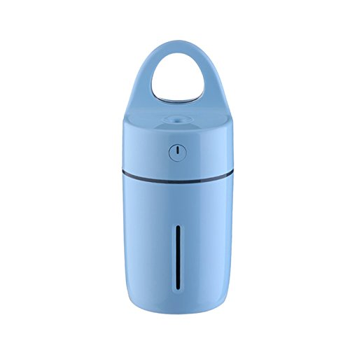 Ayans Cool Mist Personal Mini Humidifier,175ML Magic Cup Humidifier Aroma Diffuser USB Purifier with Colorful Led Light for Home Car Office