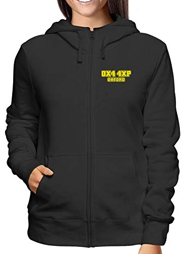 E Zip Felpa Nero shirtshock Donna Cappuccio Oxford Wc1446 Postcode United T BUA6ngw