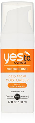 Yes To Carrots Daily Facial Moisturizer SPF 15, 1.7 Fluid Ounce