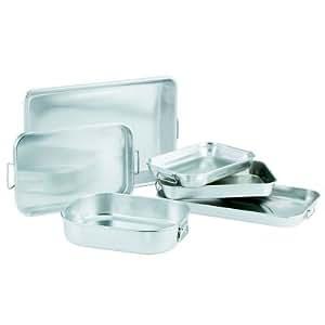 Vollrath 68257 Wear-Ever HD 7.5 Quart Aluminum Baking / Roasting Pan