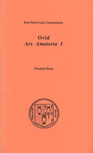 Ovid Ars Amatoria I (Latin and English Edition)