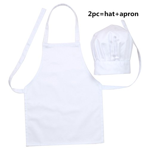 kids apron chef hat - 5