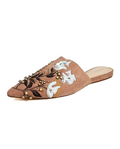 Damen Shoes Slingback 33000688 Embroidered Mango wXA8zqfX