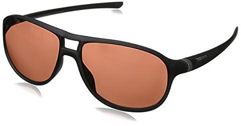 Tag Heuer 27 Degree 6043 212 6043212 Oval Sunglasses, Matte Black & Transluscent, 60 mm (Tag Heuer Women Black)