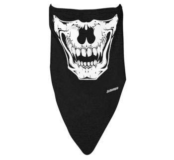 Schampa Stretch Half-Face Mask, Distinct Name: Clown, Gender: Mens/Unisex, Size: OSFM, Primary Color: Black VNG008-A