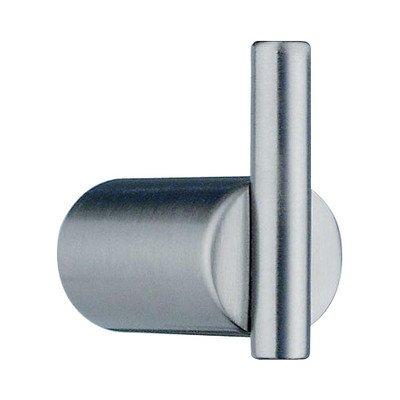 Beslagsboden Wall Mounted Single Towel Hook Finish: Brushed Nickel