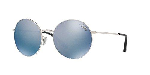 Coach Womens Sunglasses Silver/Blue Metal - Polarized - - Coach Glasses Blue