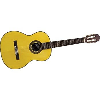 Takamine G Series G128S Classical Guitar, Natural
