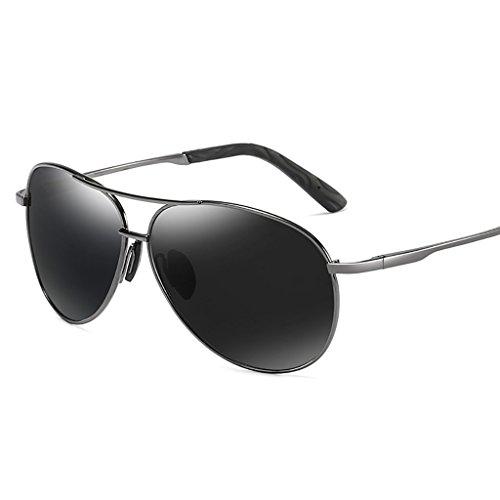 Marco Sol Color B protección Ligero UV400 C polarizado de Metal Deportes Hombre de Gafas Peso Aviador 8qO5Z1Onx