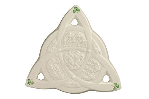 Belleek Celtic Cross (Belleek 3422 Celtic Wall Plaque, 6.3-Inch, White)
