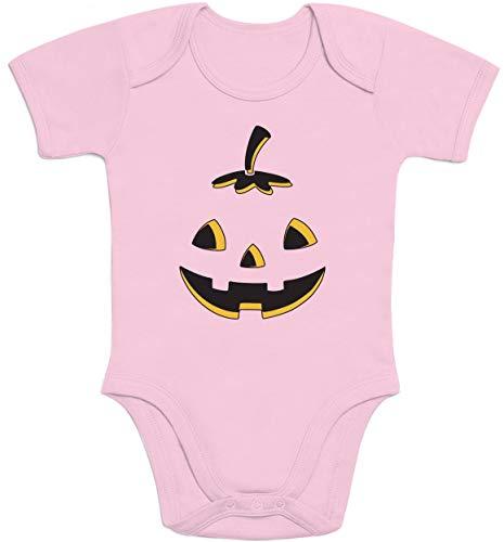 Che Halloween Rosa O' Lantern Jack Body Zucca Corta Manica Neonato Ride w5aZHdnq