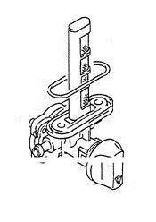 K&L Stock Replacement Fuel Petcock for 1989-1997 Suzuki GSX600KL/GSX600FV Katan