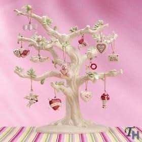 Valentine 12-piece Ornament Set by Lenox