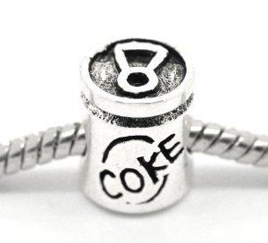 Can of Coke Bead for Snake Chain Charm Bracelet: Amazon ca