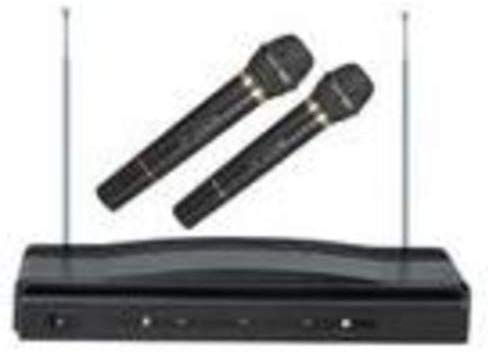 Supersonic SC 900 Professional Wireless Dual Microphone System Kit