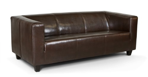 B-famous-2-Sitzer-Sofa-Kuba-149-x-88-cm-Glanzleder-braun