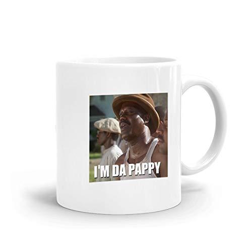 Kurabam Coffee Mug I'm Da Pappy Bernie Mac Father's Day Tea Milk Funny Mugs Ceramic Cup Cafe Mug Birthday Gifts -