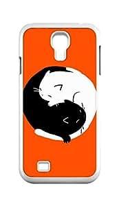 Cool Painting yin yang ying yang Snap-on Hard Back Case Cover Shell for Samsung GALAXY S4 I9500 I9502 I9508 I959 -1221