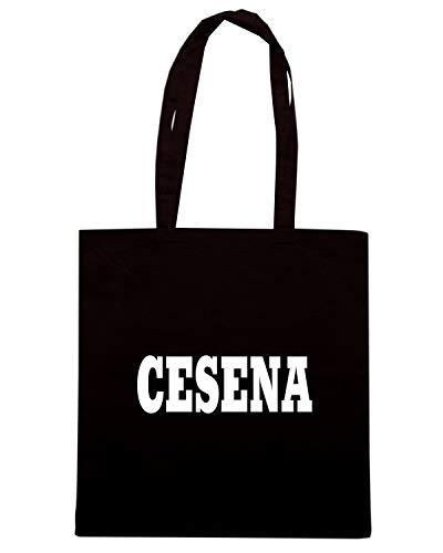 CESENA ITALIA CITTA Shirt STEMMA Borsa Shopper LOGO WC0890 Nera Speed aX6xSq