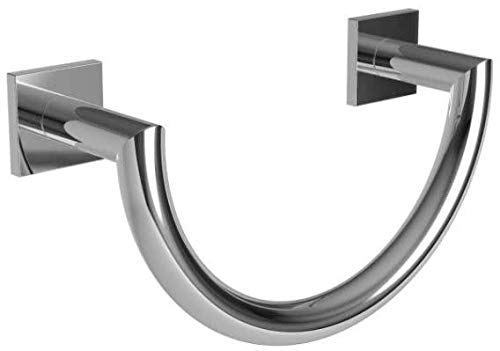 Ginger 5305/PC Dyad Towel Ring 5305, Polished Chrome