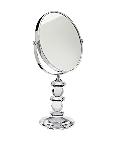 Godinger 44544 Faceted Crystal Mirror with Stand Godinger Mirror