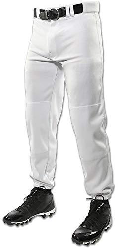 CHAMPRO Men's Triple Crown Classic Baseball Pant White Medium