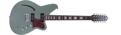 Reverend Airwave 12 String Electric Guitar Metallic Alpine