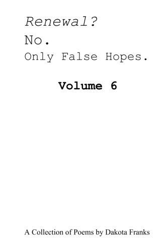 Download Renewal? No. Only False Hopes. pdf epub