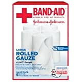 Band-Aid First Aid Covers Kling Rolled Gauze, Large, 5 ea - 2pc