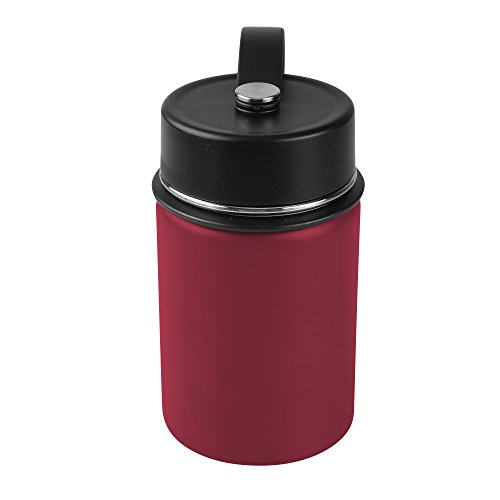 - Tahoe Trails Double Wall Vacuum Insulated Stainless Steel Water Bottle (chili pepper, 12 oz)