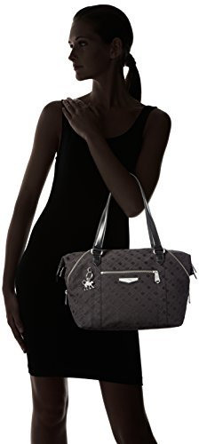 Kipling ART S, Bolsa de Asa Superior para Mujer, Negro (REF33W Diamond Black), 44x27x18 cm (B x H x T)