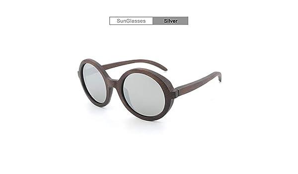 XXYHYQ Sunglasses Gafas de Sol polarizadas de bambú Película ...
