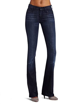 Amazon.com: 7 For All Mankind Women's Midrise Boot Cut Jean in Los ...