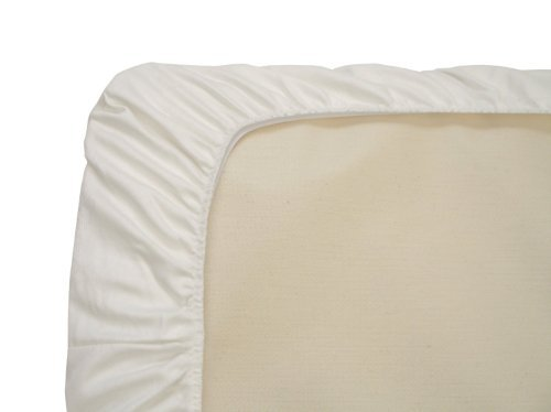 Twinkle Luxury Soft Fitted Sheet of 100-Percent Pure Cotton for Home School Hotel Hospital Twin Queen King Size (Queen)