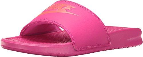 Nike Benassi JDI Slide Deadly Women's Sandals 343881-607 (6 B(M) US) ()