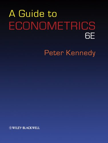 A Guide to Econometrics. 6th edition