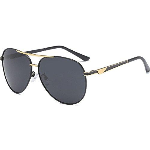 de A Aoligei de Doble sol hombre de sol conductor de gafas electrochapado sol de color gafas gafas polarizado qzq1T