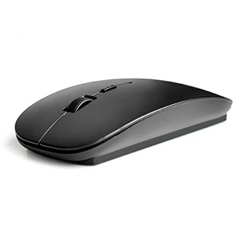 Perman Slim 2.4 GHz Optical Wireless Mouse Mice with USB Receiver for Macbook Computer PC Laptop Gamer (Wireless Mini Usb Trackball)