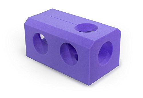 MediChoice Foam Cradle Positioner, Disposable, Single Use, Purple, 1314P40424 (Each of 1)