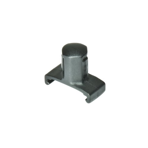 Ernst Manufacturing 1/2-Inch Dura-Pro Twist Lock Socket Clips, 15-Pack, Black