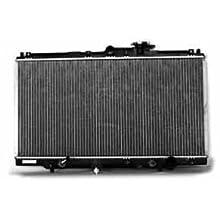 TYC 1494 Honda Accord 1-Row Plastic Aluminum Replacement Radiator