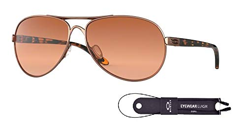 Oakley Feedback OO4079 407901 59M Rose Gold/VR50 Brown for sale  Delivered anywhere in USA