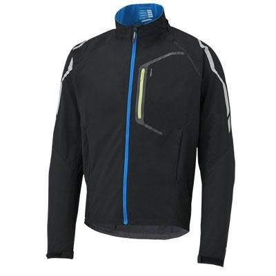 Shimano 2015 Men's Hybrid Tour Bike Cycling Jacket - ECWRATSMS11M (Black - XL)