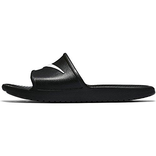 rt Shower Slide Sandals Black/White (8) ()
