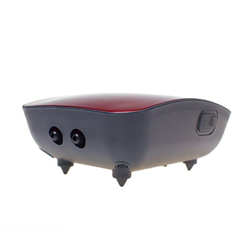 Image of Saim Water Resistant AC/DC Battery Operated Aquarium Fish Tank Air Pump For Power Outage Dual Output