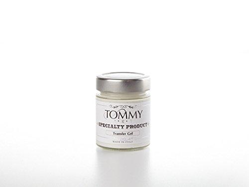 Tommy Art Transfer Gel Medium, Transparent, 140ml Jar - Transfer Medium Gel