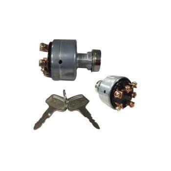 ignition key switch, new, case ih, 1991036c1, international, 1271716c1,  mitsubishi, 1025-3504-000