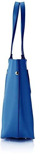 L a Borsa Blu Borse Spalla x Blue Donna Chicca H cm 33x30x13 x 8608 W q17dt