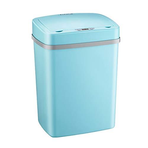 JenLn Container met recycling 12L capaciteit Automatische inductie RVS Oplaadbare Afvalemmer voor BinnenministeriumHotel…
