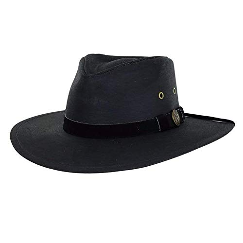 Outback Trading Kodiak Hat, Black, X-Large